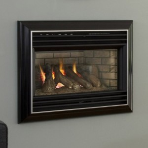 hole in wall gas fire for chimney breast Valor Homeflame